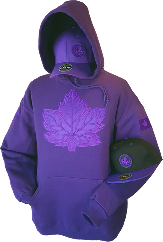 1 of 20 Limited Edition Tonal Canada Hoodie Mighty Maple Purple
