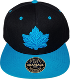 Canada Mighty Maple Black Blue Tonal Snapback