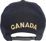 Canada Mighty Maple Black and Gold Snapback