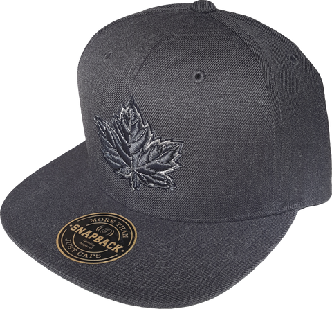 Canada Mighty Maple Dark Heather Melange Snapback