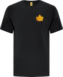 Canada Mighty Maple T-Shirt Black Gold Tonal