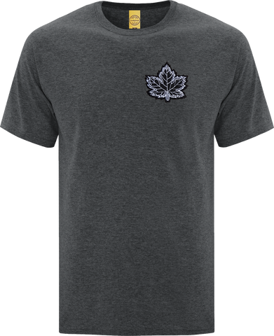 Canada Mighty Maple T-Shirt Dark Heather Black White