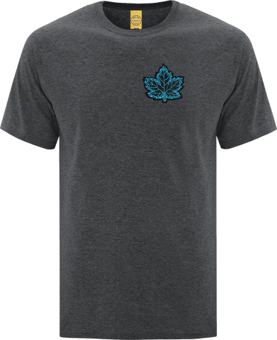 Canada Mighty Maple T-Shirt Dark Heather Black Blue