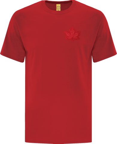 Canada Mighty Maple T-Shirt Red Tonal