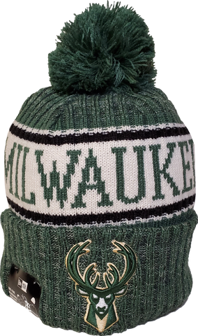 Milwaukee Bucks Fleece Lined Pom Toque