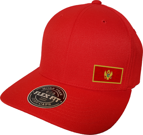Montenegro Cap Flex Fit FLS Red