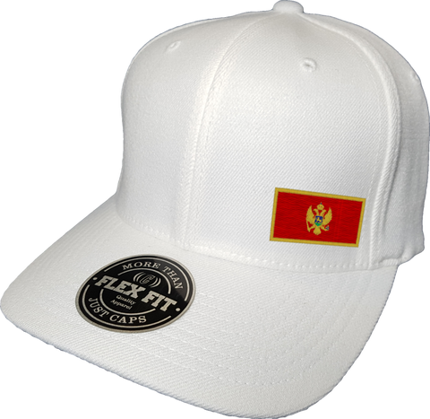 Montenegro Cap Flex Fit FLS White