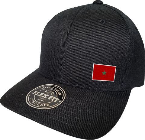 Morocco Cap Flex Fit FLS Black