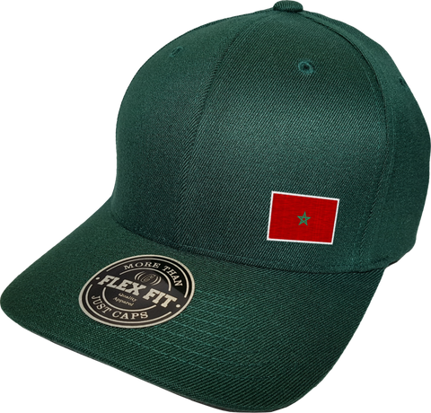 Morocco Cap Flex Fit FLS Green