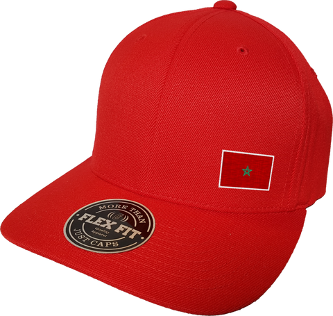 Morocco Cap Flex Fit FLS Red