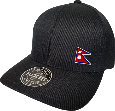 Nepal Cap Flex Fit FLS Black
