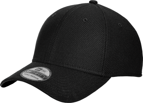 New Era Blank Diamond Era 3930 Flex Fit Cap Black