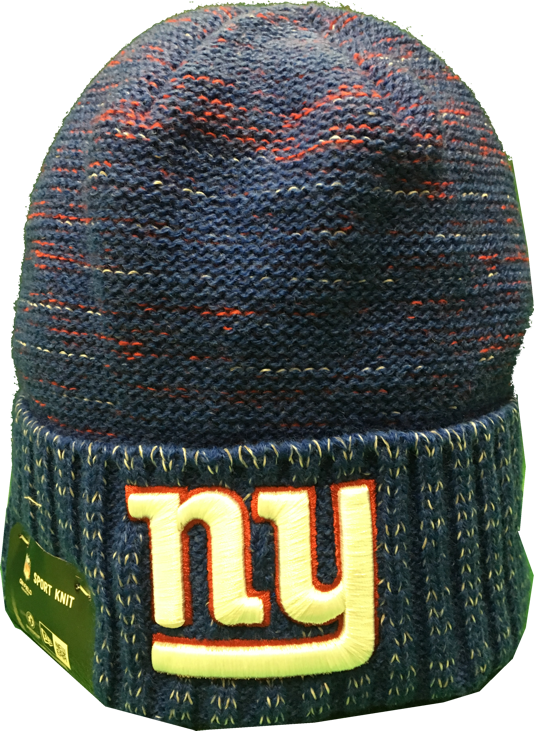 New York Giants Reverse Kickoff Sideline Beanie Toque – More Than Just Caps  Clubhouse 9559a6200db