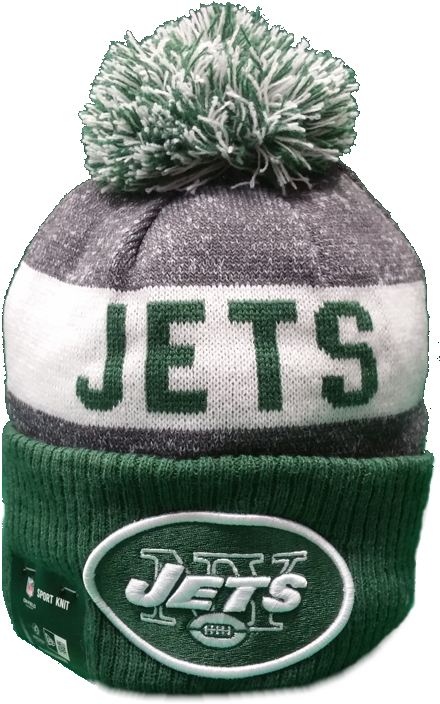 New York Jets 2016-2017 Sideline Knit Pom Toque