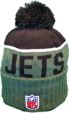 New York Jets Sideline Knit Pom Toque