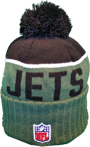 a96fde722 New York Jets Sideline Toque Pom Knit – More Than Just Caps Clubhouse
