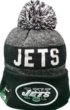 New York Jets Black 2016-2017 Sideline Knit Pom Toque