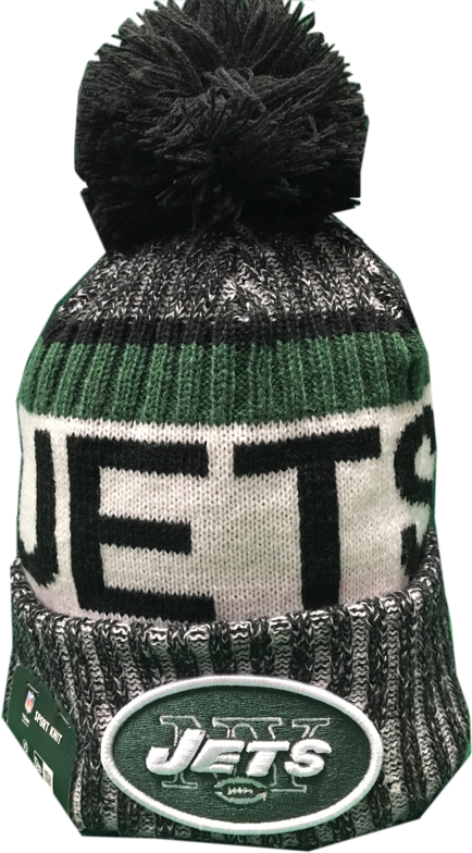 d71d5ee5073 New York Jets NFL 17 Reverse Sideline Pom Toque – More Than Just Caps  Clubhouse