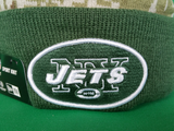 New York Jets Salute to Service Sideline Fleece Pom Toque