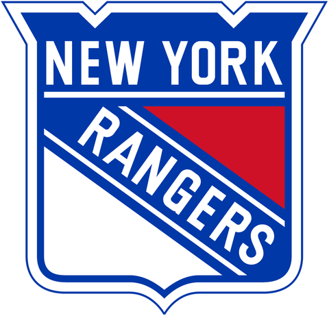 New York Rangers Jersey Numbering Pro Stitched 2 Layer