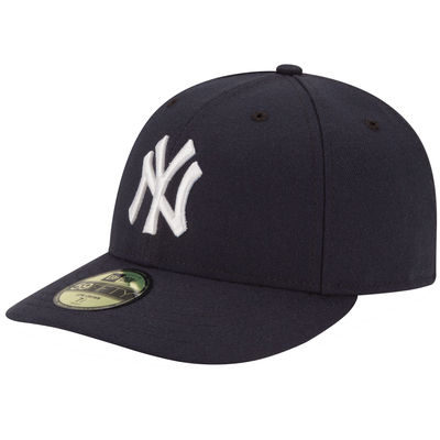 New York Yankees Fitted Game Low Crown