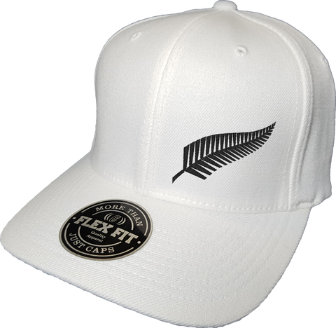 New Zealand Cap Flex Fit FLS White