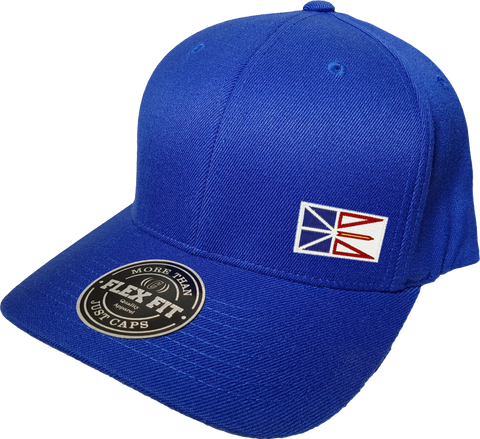 Newfoundland Cap Flex Fit FLS Blue
