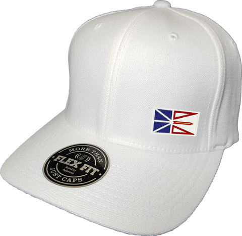 Newfoundland Cap Flex Fit FLS White