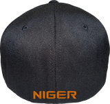 Niger Cap Flex Fit FLS Black