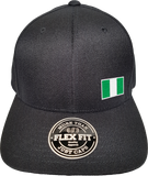 Nigeria Cap Flex Fit FLS Black