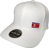 North Korea Cap Flex Fit FLS White