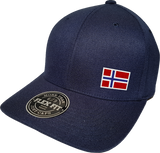Norway Cap Flex Fit FLS Navy Blue