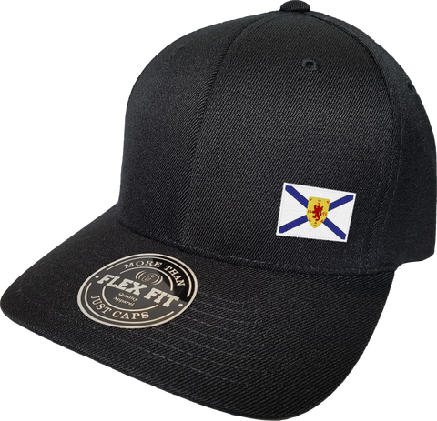 Nova Scotia Cap Flex Fit FLS Black