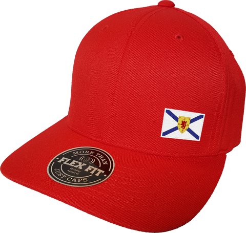 Nova Scotia Cap Flex Fit FLS Red