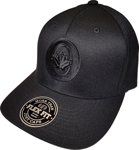 O-Canada Represent Cap Flex Fit Blackout