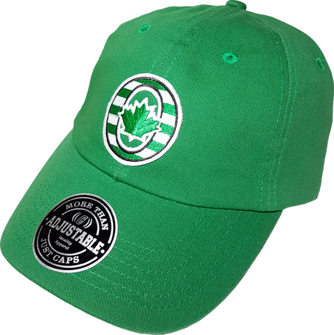 O-Canada Patch Dad Hat Green