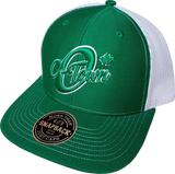 O-Town Meshback Trucker Green White