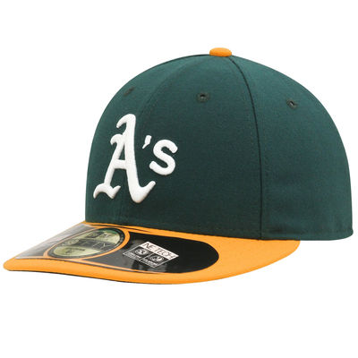 Oakland A's Fitted Game Low Crown