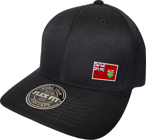 Ontario Cap Flex Fit FLS Black