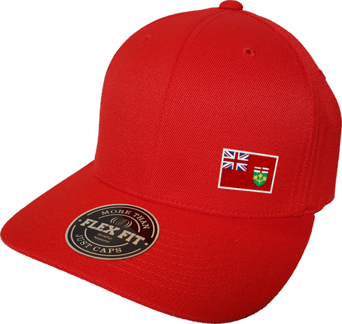 Ontario Cap Flex Fit FLS Red