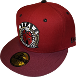 Ottawa Soldier New Era Fitted Cardinal Red