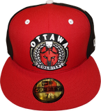 Ottawa Soldier New Era Fitted Red Black