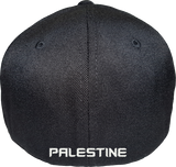 Palestine Cap Flex Fit FLS Black