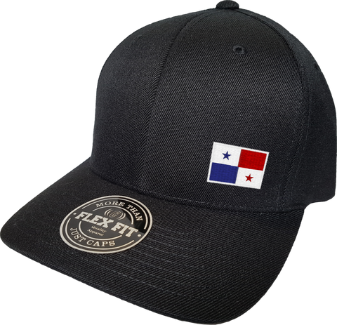Panama Cap Flex Fit FLS Black