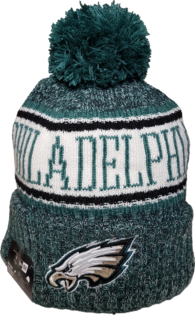 f169df95d Philadelphia Eagles NFL 18 Sideline Pom Toque – More Than Just Caps  Clubhouse