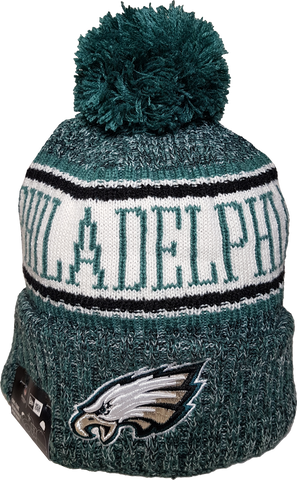 Philadelphia Eagles NFL 18 Sideline Pom Toque