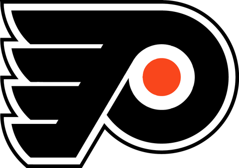 Philadelphia Flyers Jersey Numbering Pro Stitched 2 Layer Perforated