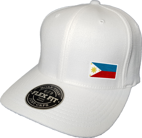 Philippines Cap Flex Fit FLS White