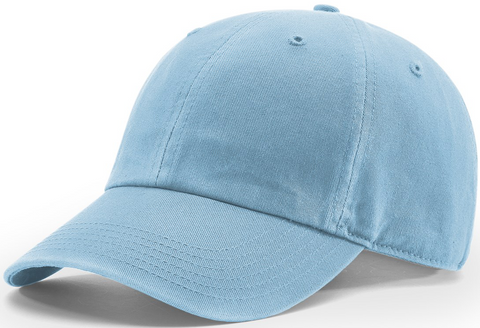 Richardson Pigment Dyed And Washed Cap Columbia Blue