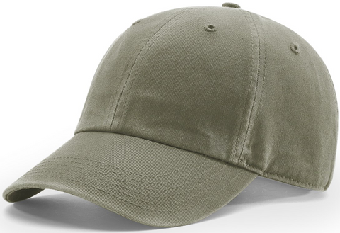 Richardson Pigment Dyed And Washed Cap Olive